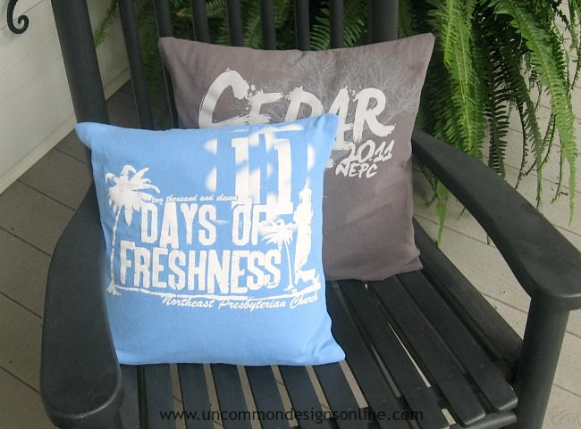 Image result for tee shirt throw pillow