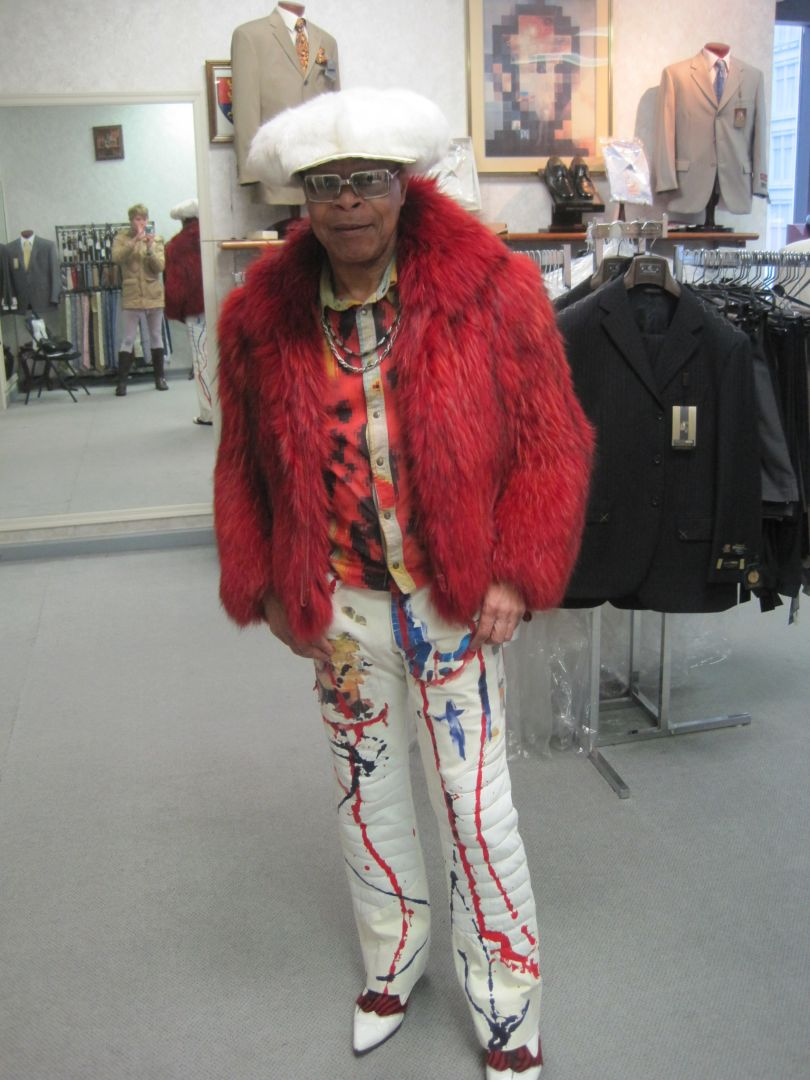 When Sammy Meets Snazzy Men Who Wear Designer Vintage at Zeller's Tuxedo …