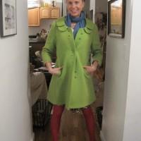 sammy davis vintage mod 60s coat