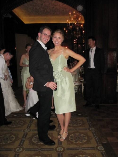 sammy davis and jesse north at wedding