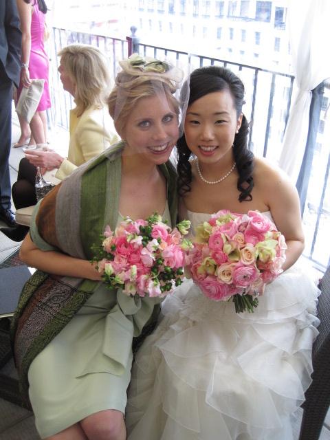 sammy davis and kaitlyn dreyling at DC wedding