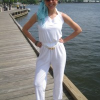 How to Wear a Terrycloth Jumpsuit [Without Looking Like a Housewife from New Jersey]