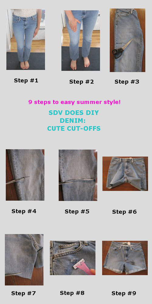DIY Denim: How to Create Cute Cut-Offs in 9 Steps [or Less!]