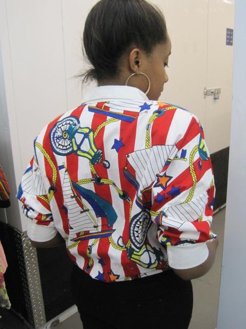 samantha smikle wears sammy davis vintage