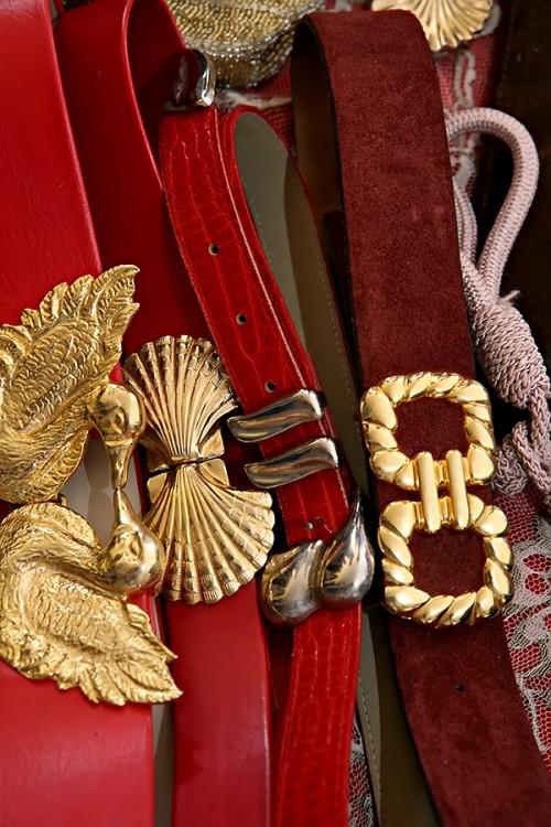 nautical belt buckles by sammy davis vintage