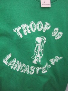 troop 99 vintage boy scout shirt