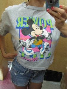 mickey mouse vintage t-shirt