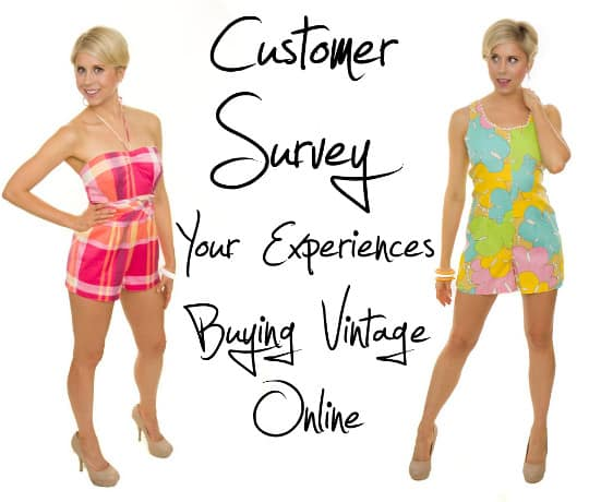 Take This Vintage Shopping Survey for a Chance to Win a $50 Gift Certificate to Etsy!