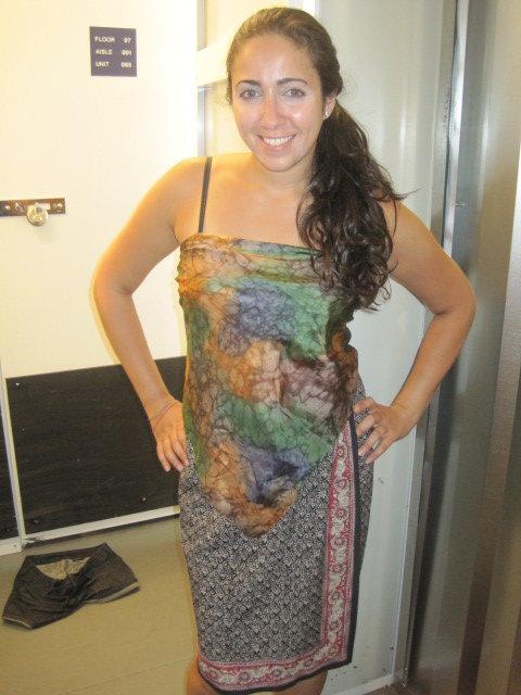 sabrina wearing SDV
