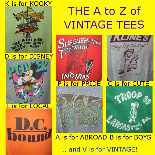 vintage tees banner
