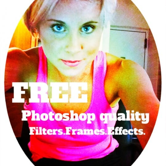 iphone filters and frames and effects