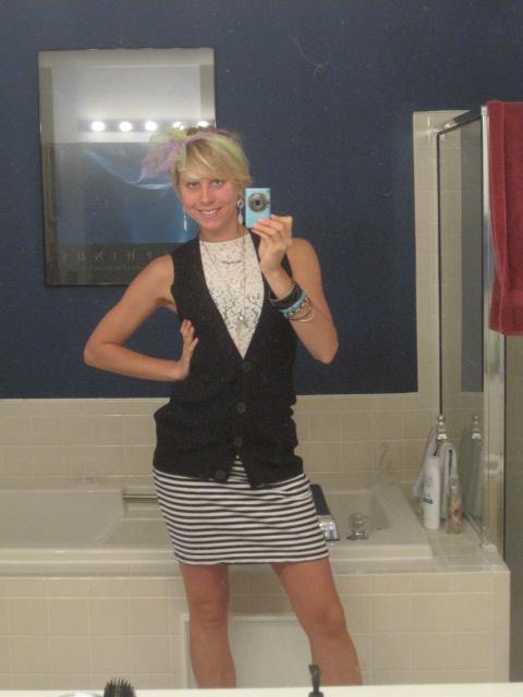 How to Wear Black & White x 2 (+ Stripes!)