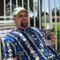 tourist in hawaiian shirt
