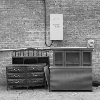 furniture on curb