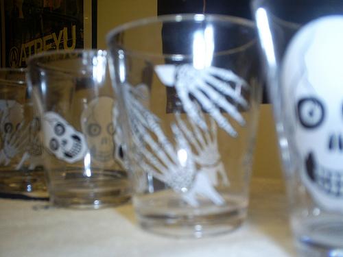 halloween shot glasses
