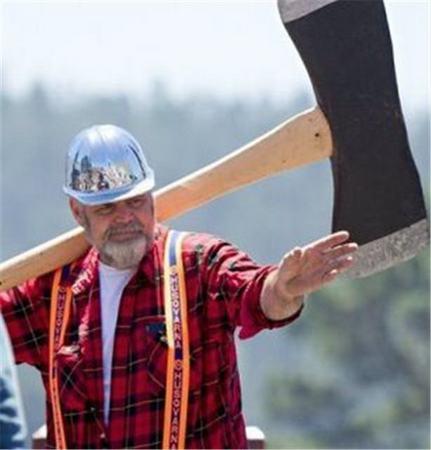 flannel on lumberjack