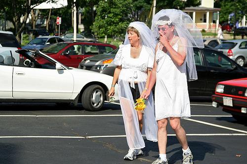 running brides