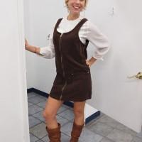 sammy davis vintage thrift store dress