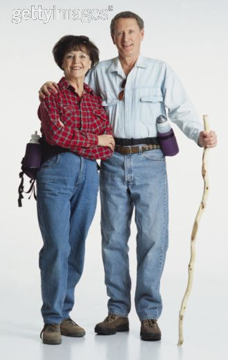 tourists wearing plaid