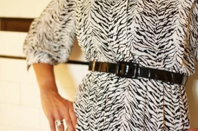 white tiger dress
