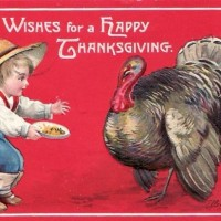 Vintage Thanksgiving Picture
