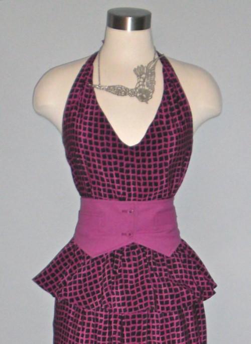 vintage wiggle dress etsy