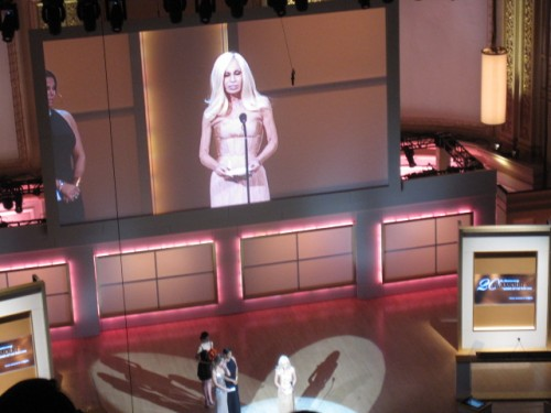 Donatella Versace Glamour Women of the Year