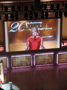 Katie Couric Glamour Women of the Year Awards