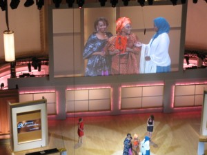 Dr. Hawa Abdi and her Daughters Glamour Women of the Year Awards
