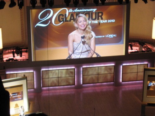 Kate Hudson Glamour Women of the Year Awards