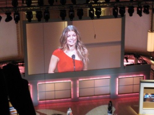 Fergie Glamour Women of the Year Awards