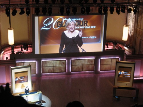 Diane Sawyer Glamour Women of the Year Awards