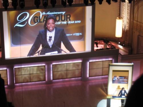 Oprah Winfrey Glamour Women of the Year Awards
