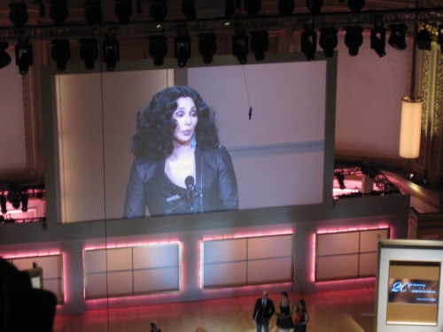 Cher Glamour Women of the Year Lifetime Award
