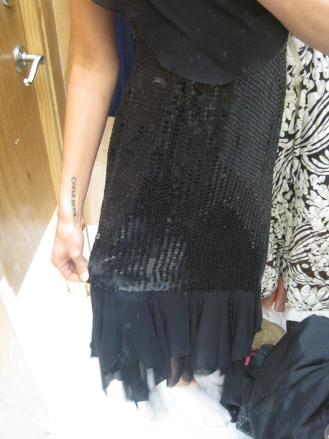 Salvation Army Sequin Vintage Dress