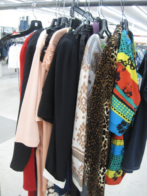 Salvation Army Vintage Clothing
