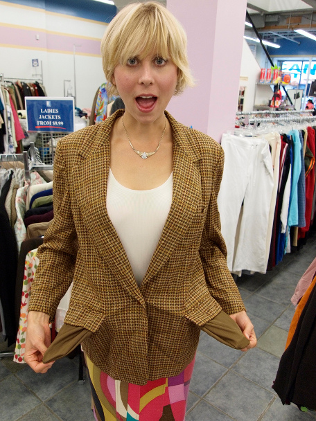 Thrift Store Shopping Goodwill