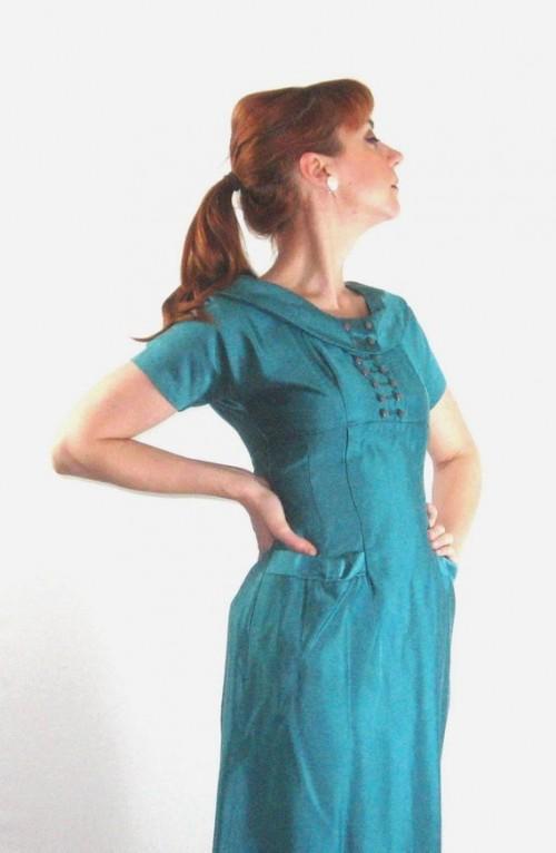 vintage women's wiggle dress etsy