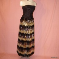 Vintage Sequin Skirt Etsy