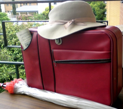 Vintage 80s Suitcase