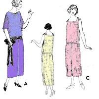 1920s vintage fashion drop waist pictures