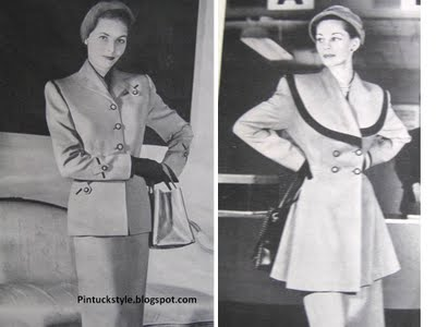 1940s vintage fashion suits