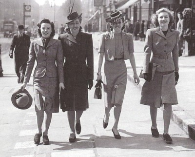 1940s vintage fashion womens suits