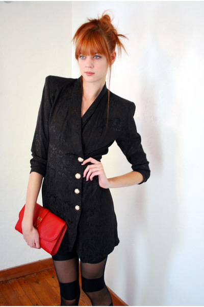 1980s vintage structured blazer