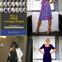vintage fashion dress giveaway