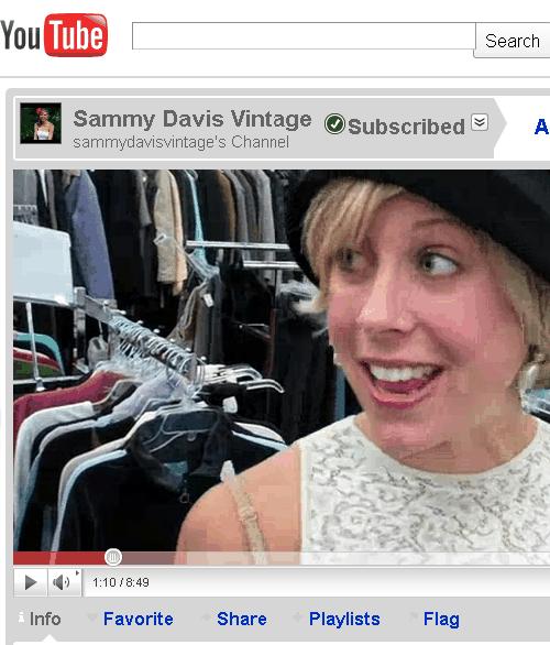 sammy davis vintage youtube channel