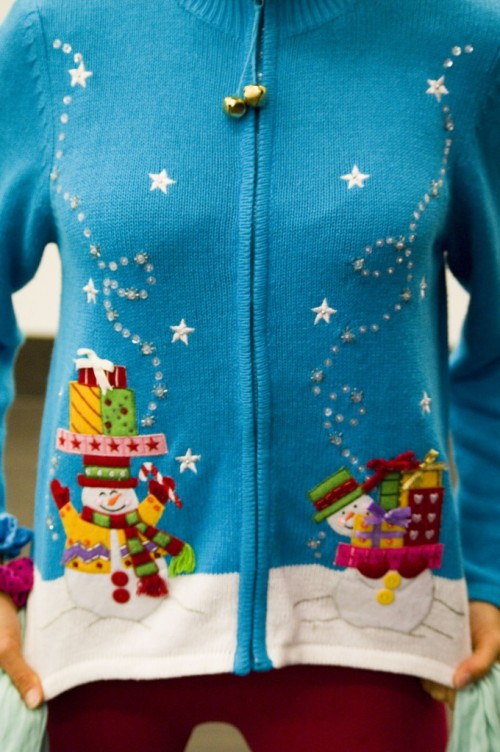vintage ugly holiday sweater