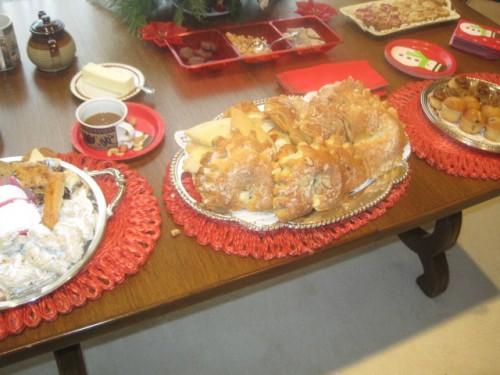 croissants at christmas