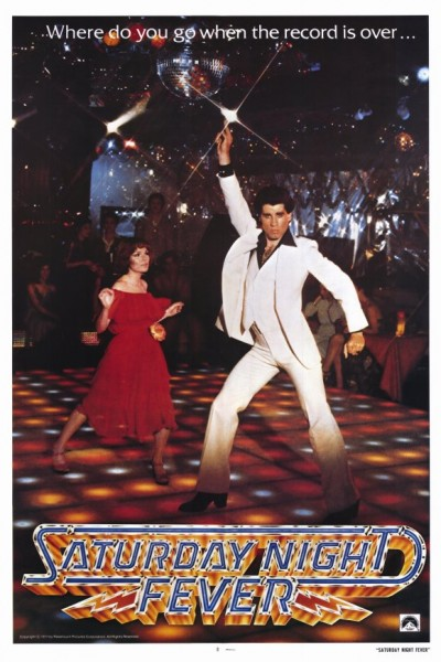 saturday night fever movie poster vintage fashion outfits