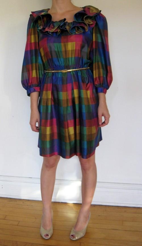 vintage holiday dress etsy